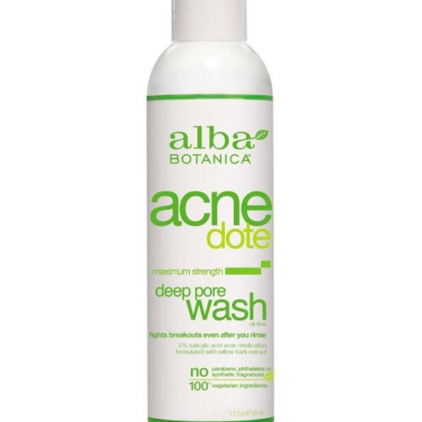 Alba Botanica Alba AcneDote Deep Pore Wash 177 mL
