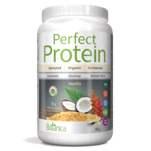 Botanica Botanica Perfect Protein Certified Organic Vanilla 780g