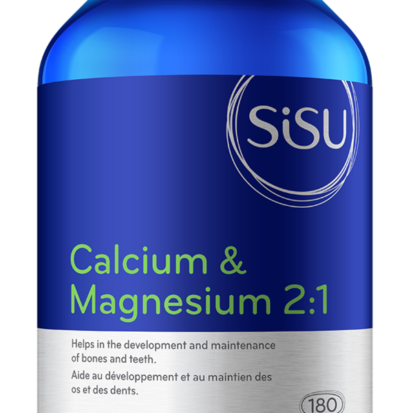 SISU SISU Calcium & Magnesium 2:1 180 Tab