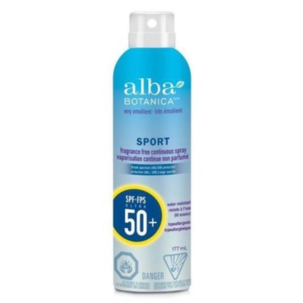 Alba Botanica Alba Sport Sunscreen Spray SPF 50 177ml