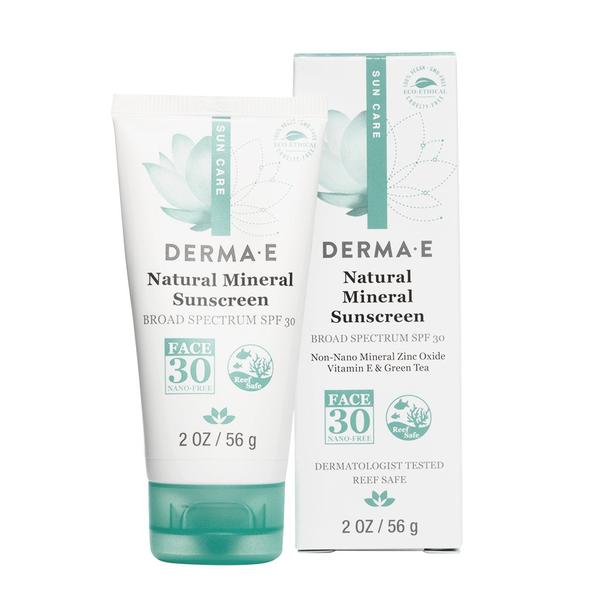 Derma E Derma E SPF 30 Natural Mineral Oil Free Facial Sunscreen 56g