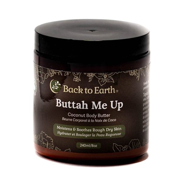 Back to Earth Back To Earth Buttah Me Up Coconut Body Butter 240ml
