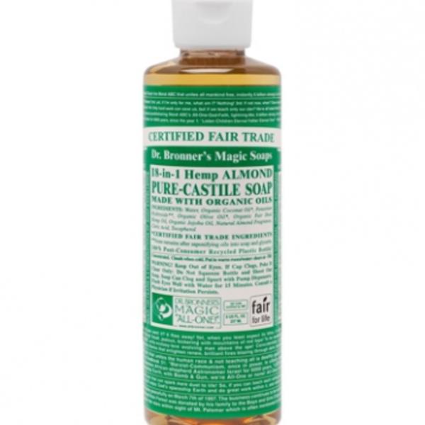 Dr. Bronner's Dr Bronner's Almond Oil Castile Soap Liquid 8oz