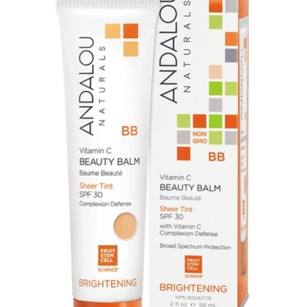 Andalou Naturals Andalou Brightening Beauty Balm Sheer Tint SPF 30 58ml