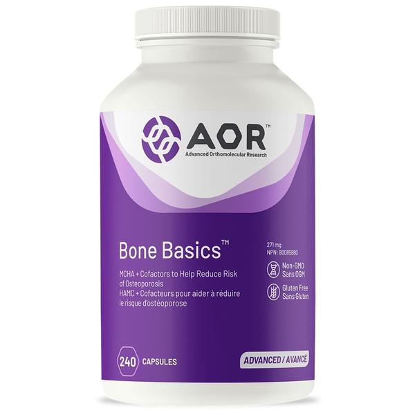 AOR AOR Bone Basics 399mg 240 caps