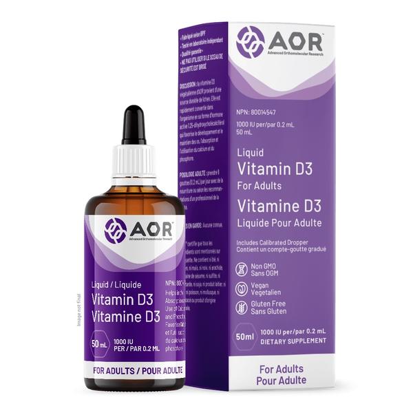 AOR AOR Vitamin D3 Drops 50ml