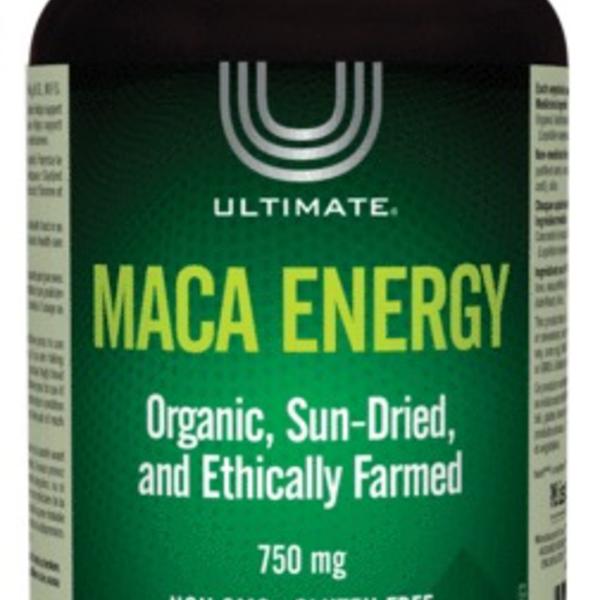 Ultimate Ultimate Maca Energy 750mg 180 vcaps