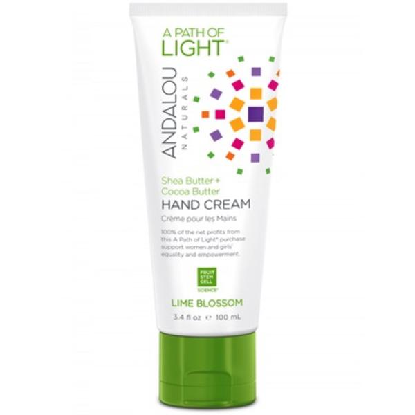 Andalou Naturals Andalou Hand Cream Lime Blossom Shea Butter + Coconut 100ml