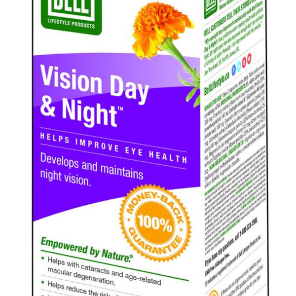 Bell Lifestyle Bell 20-20 Vision Day & Night 60 caps