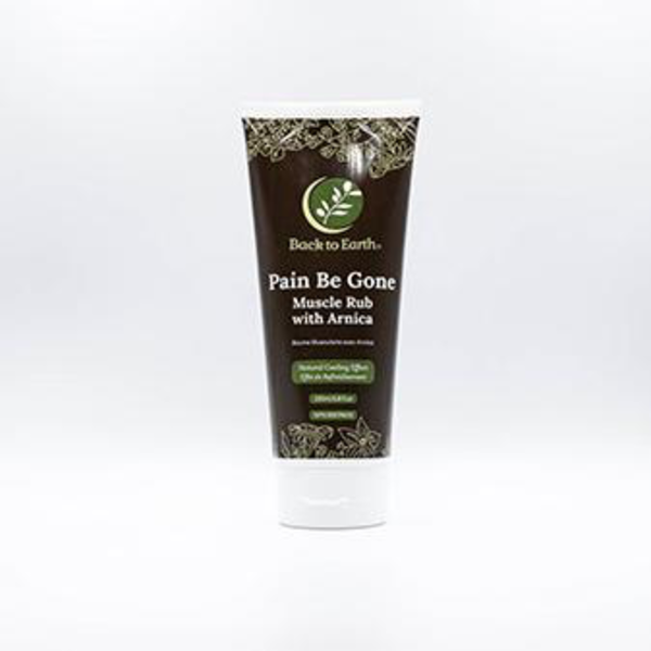 Back to Earth Back To Earth Pain Be Gone Muscle Rub with Arnica 200 ml