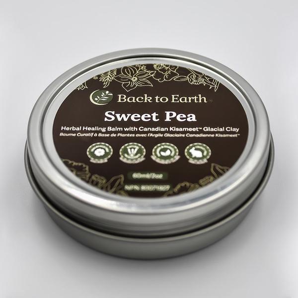 Back to Earth Back To Earth Sweet Pea Herbal Balm 120ml