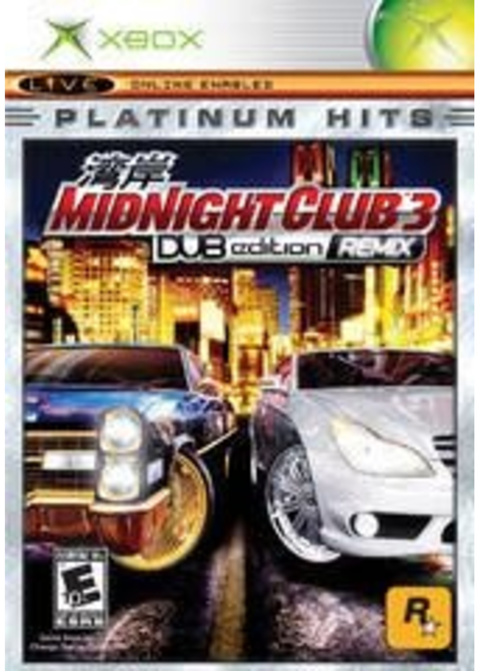 Midnight Club 3 Dub Edition Remix Xbox
