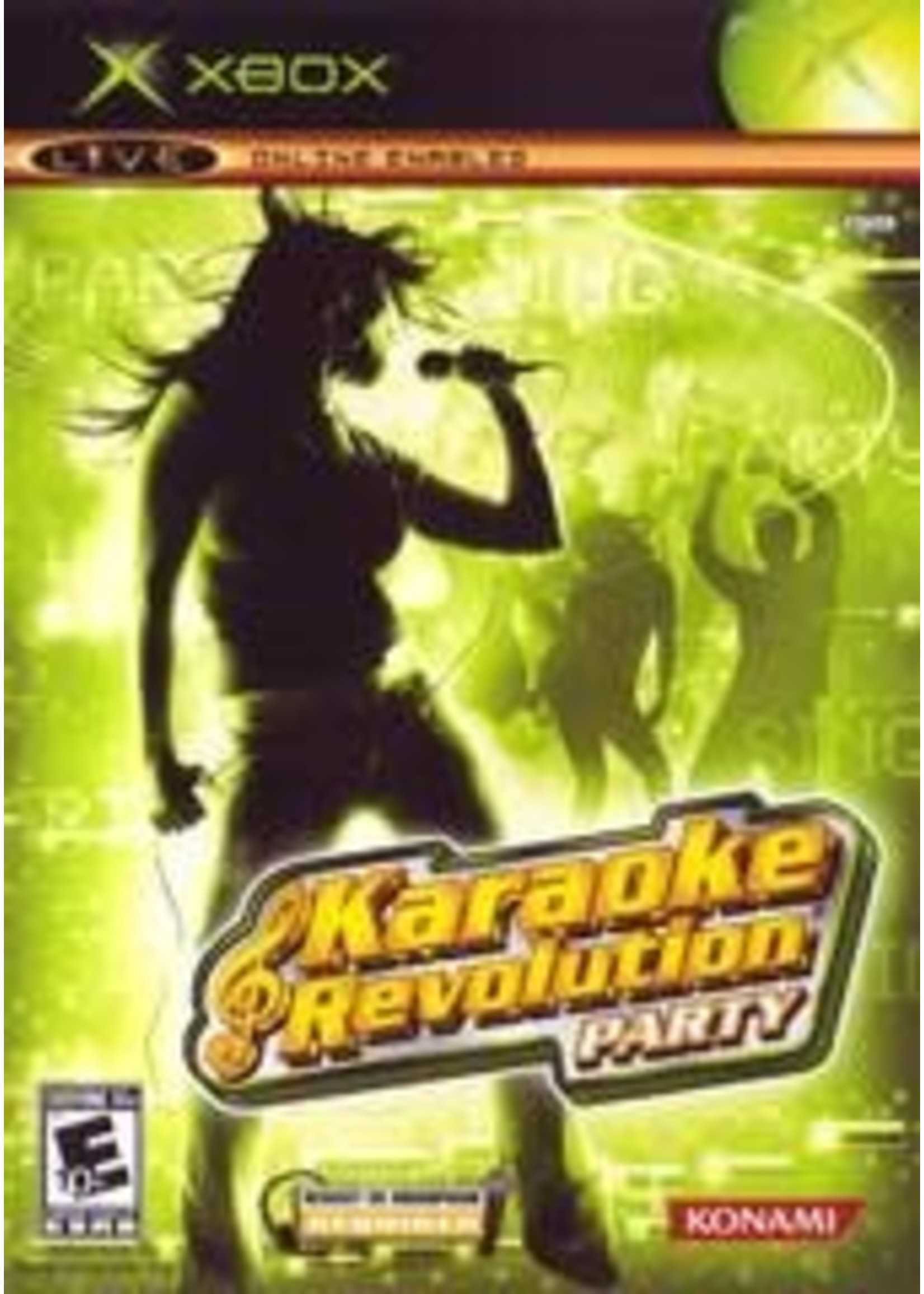 Karaoke Revolution Party Xbox