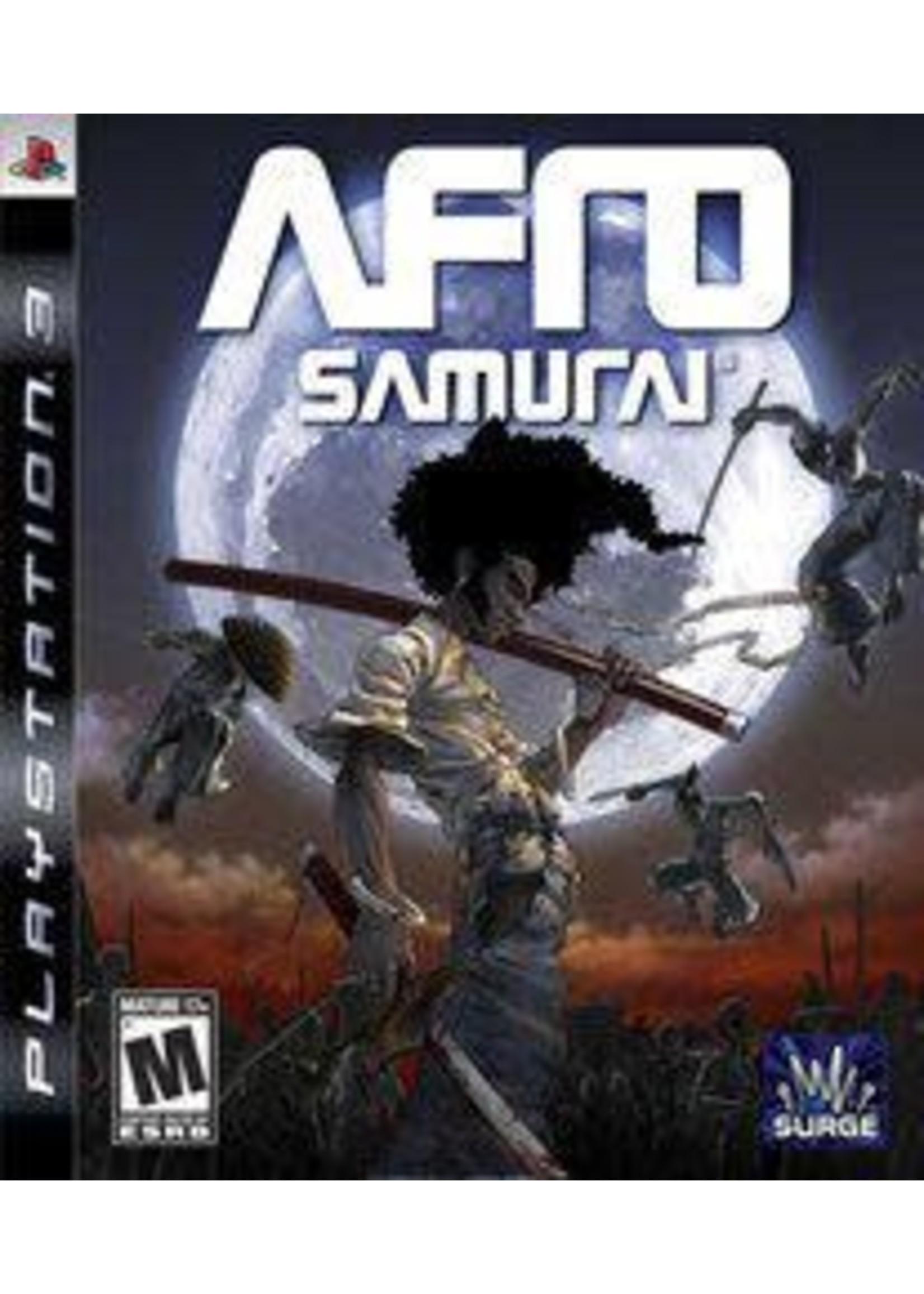 Afro Samurai Playstation 3