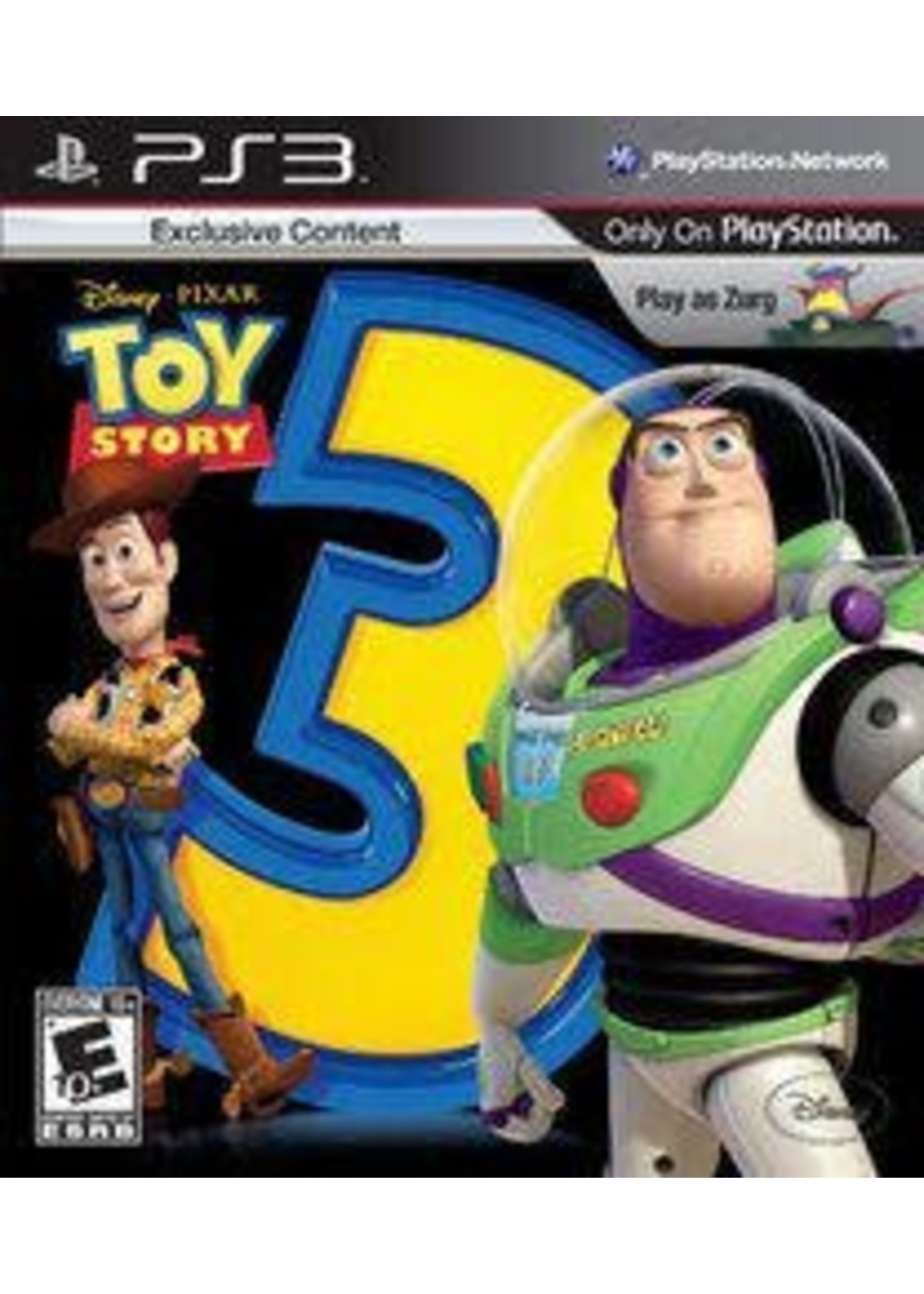 Toy Story 3: The Video Game Playstation 3