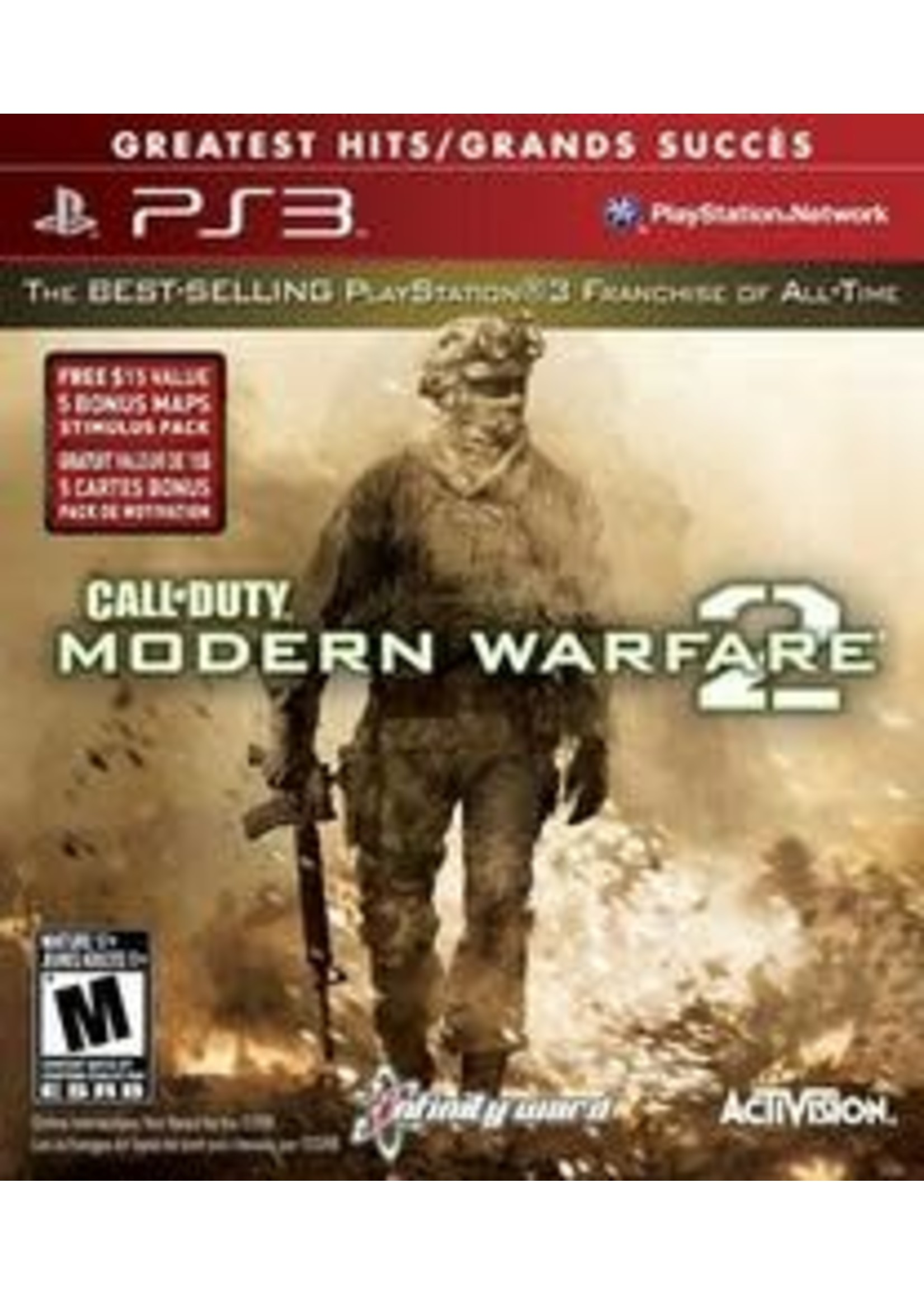 Call Of Duty Modern Warfare 2 [Greatest Hits] Playstation 3