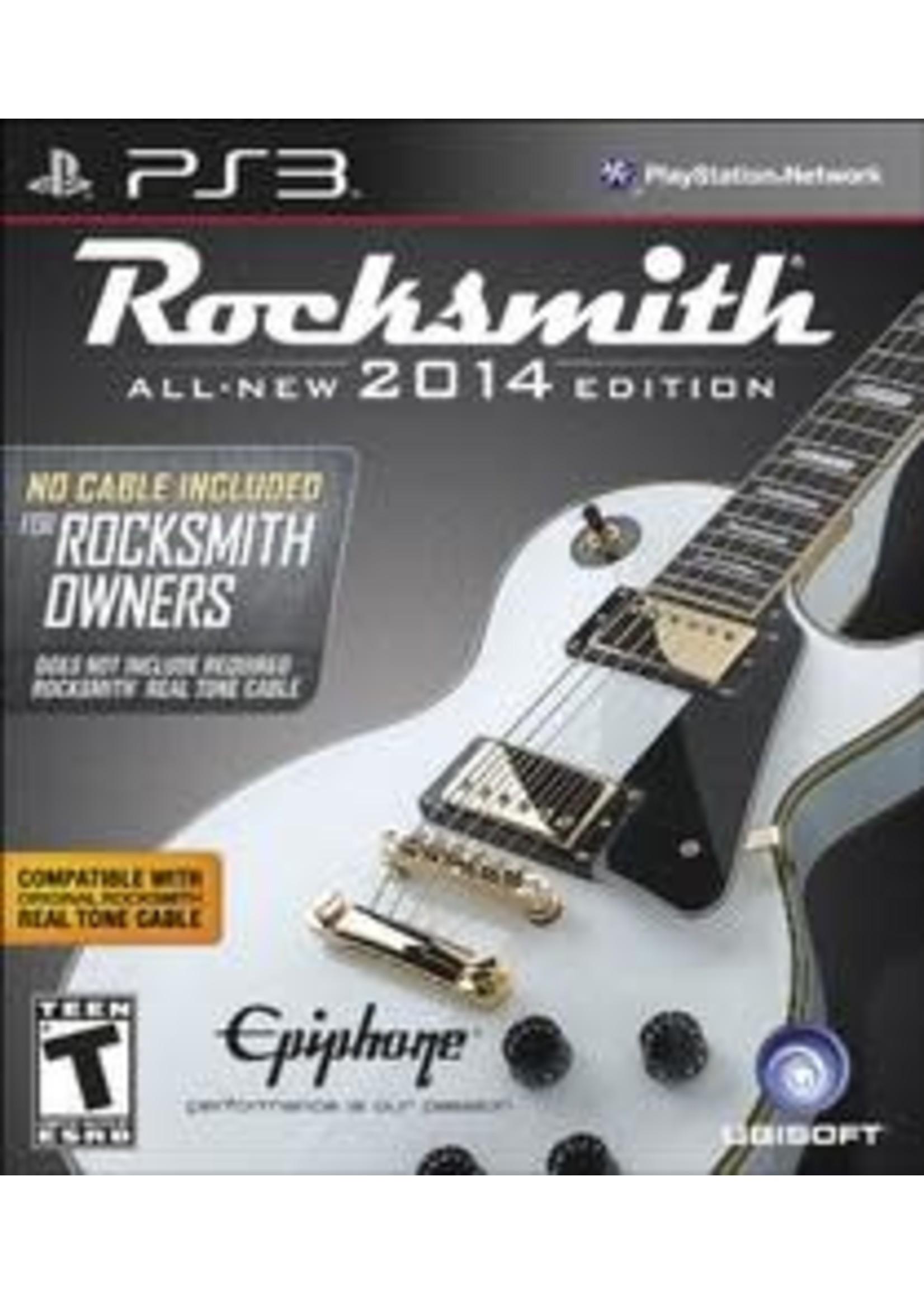 Rocksmith 2014 [No Cable] Playstation 3