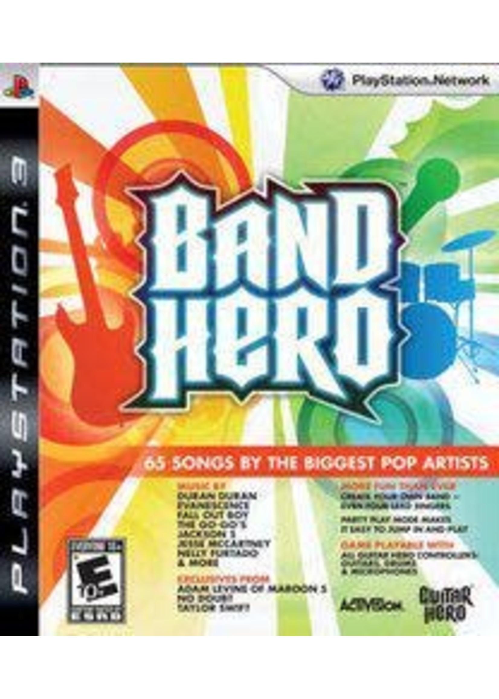 Band Hero Playstation 3