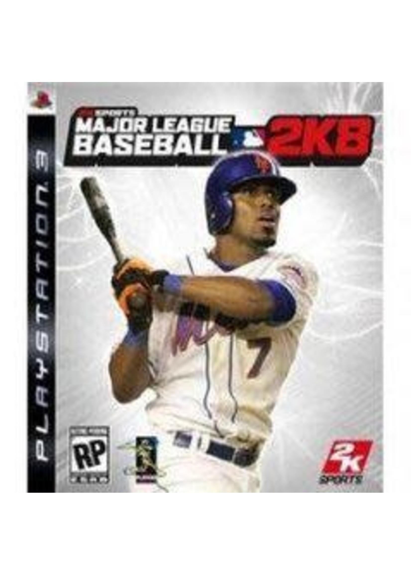 Major League Baseball 2K8 Playstation 3