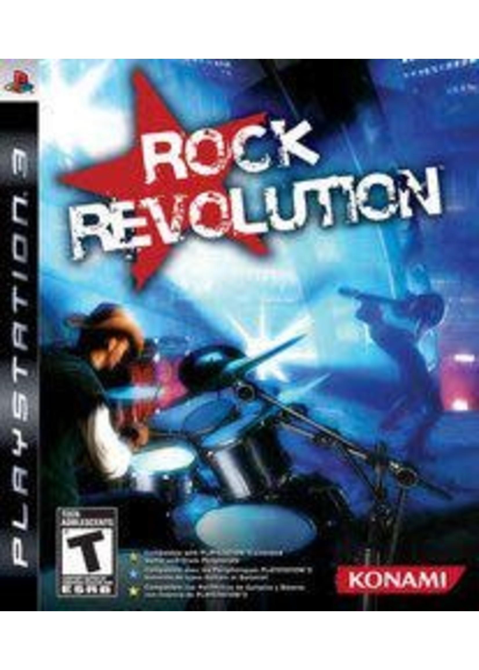 Rock Revolution Playstation 3