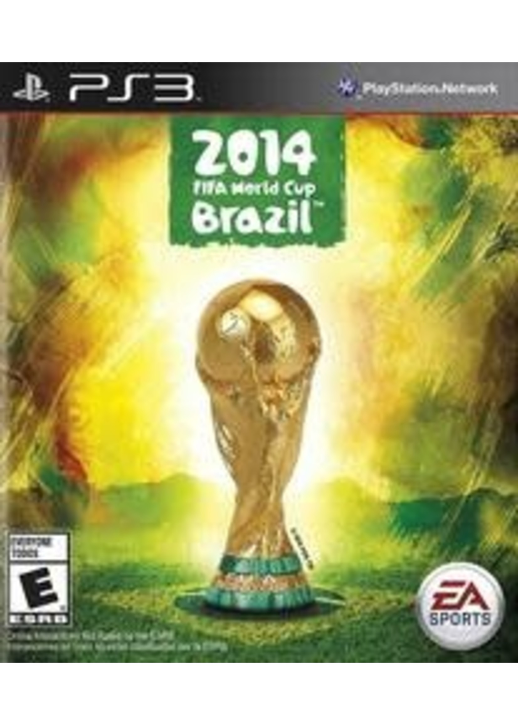 2014 FIFA World Cup Brazil Playstation 3