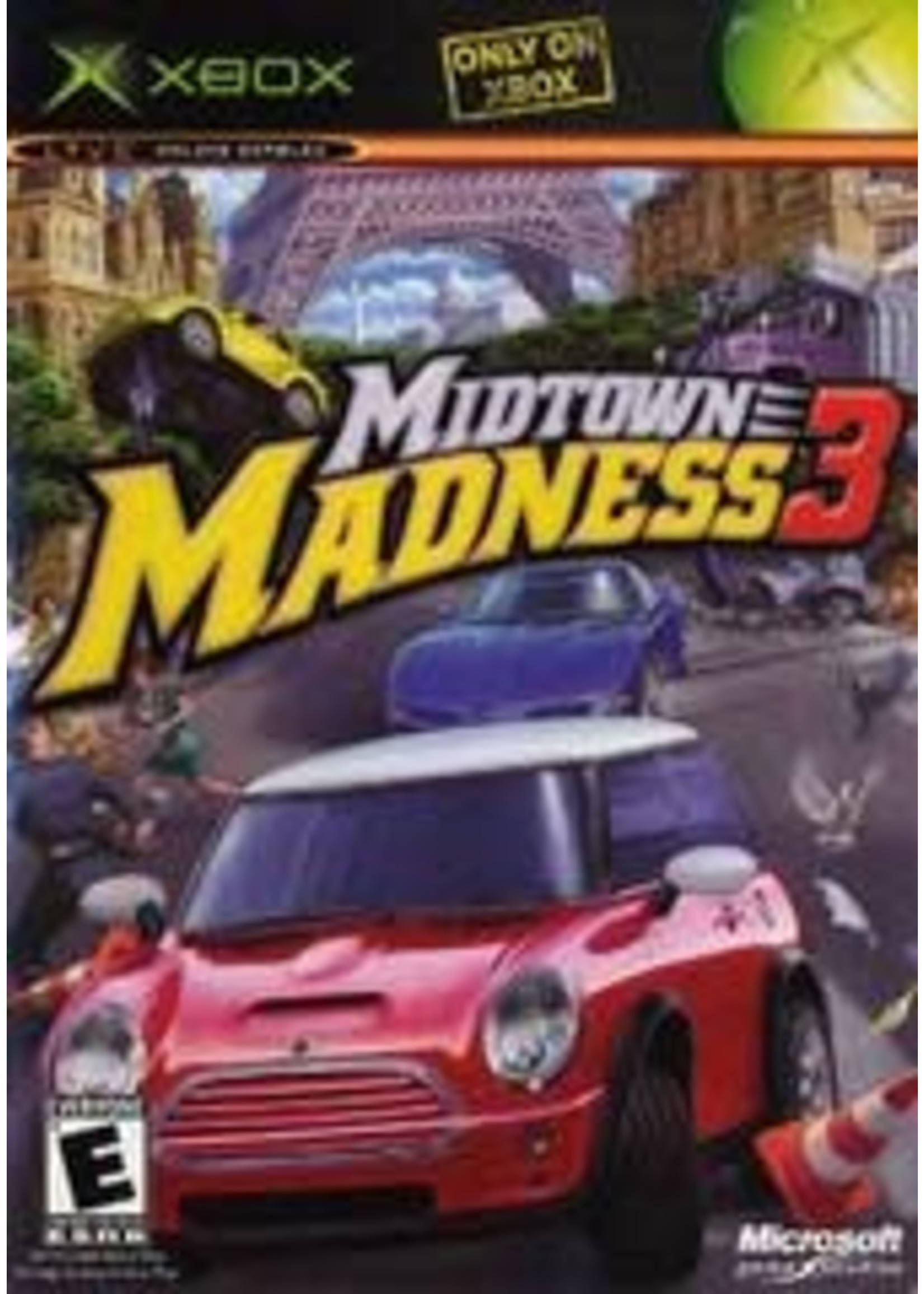 Midtown Madness 3 Xbox