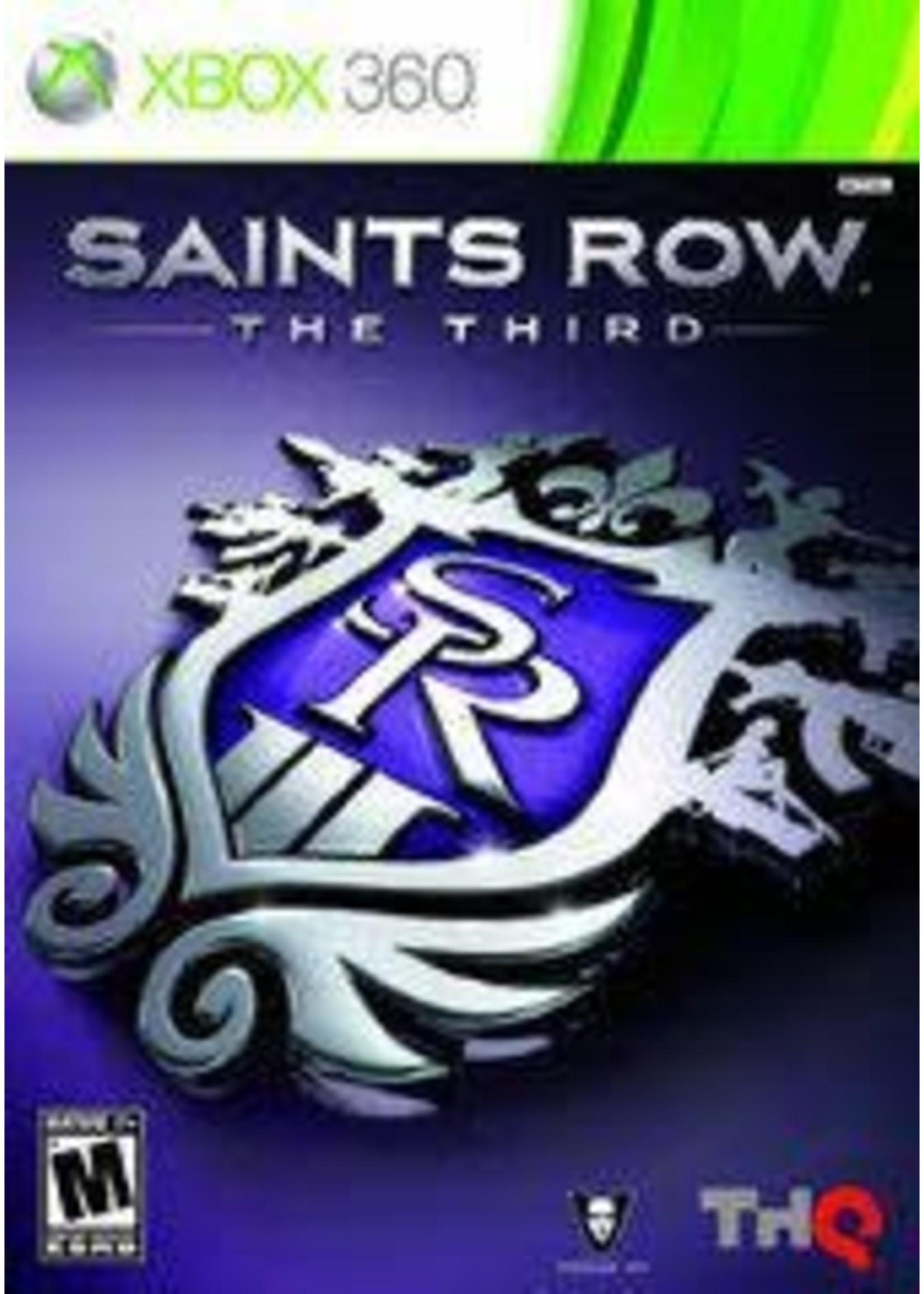 Saints Row: The Third Xbox 360