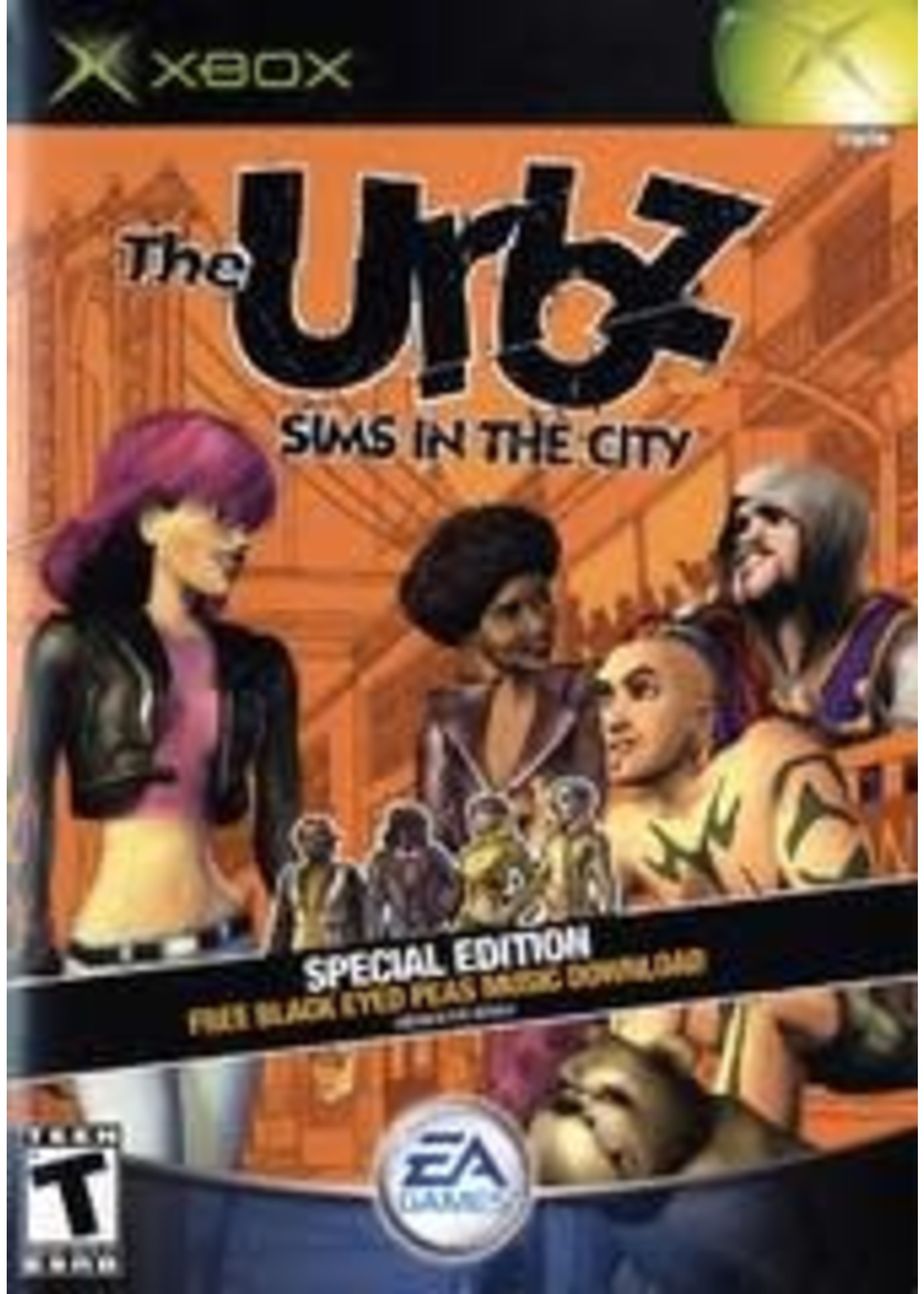 The Urbz Sims In The City Xbox