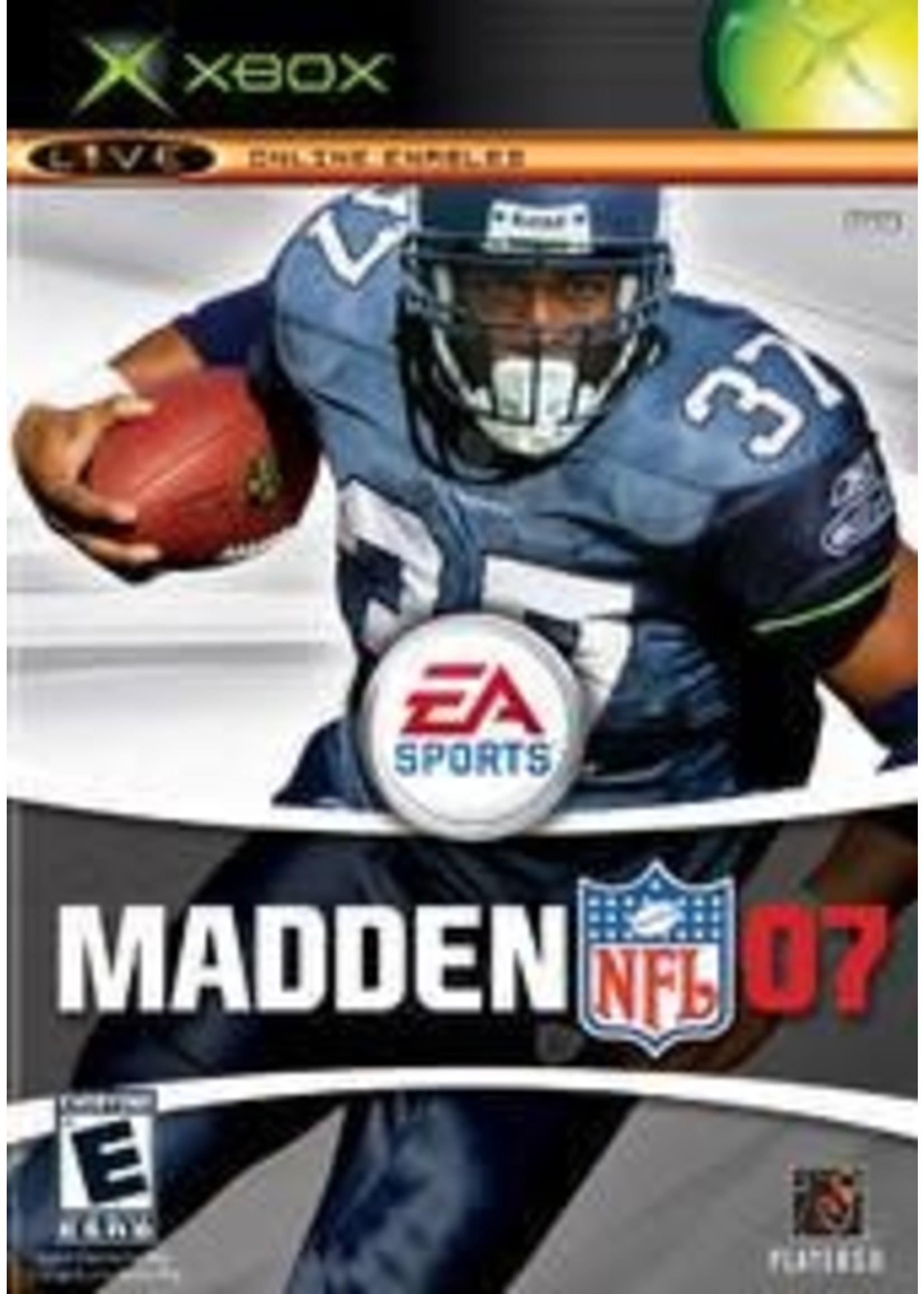 Madden 2007 Xbox