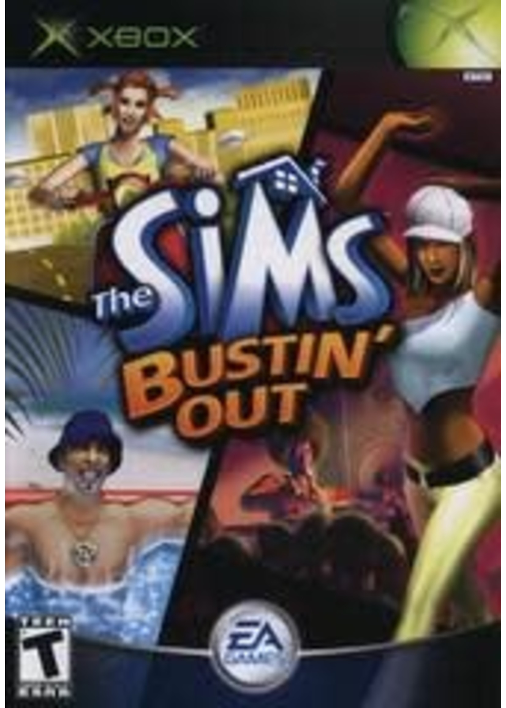 The Sims Bustin Out Xbox