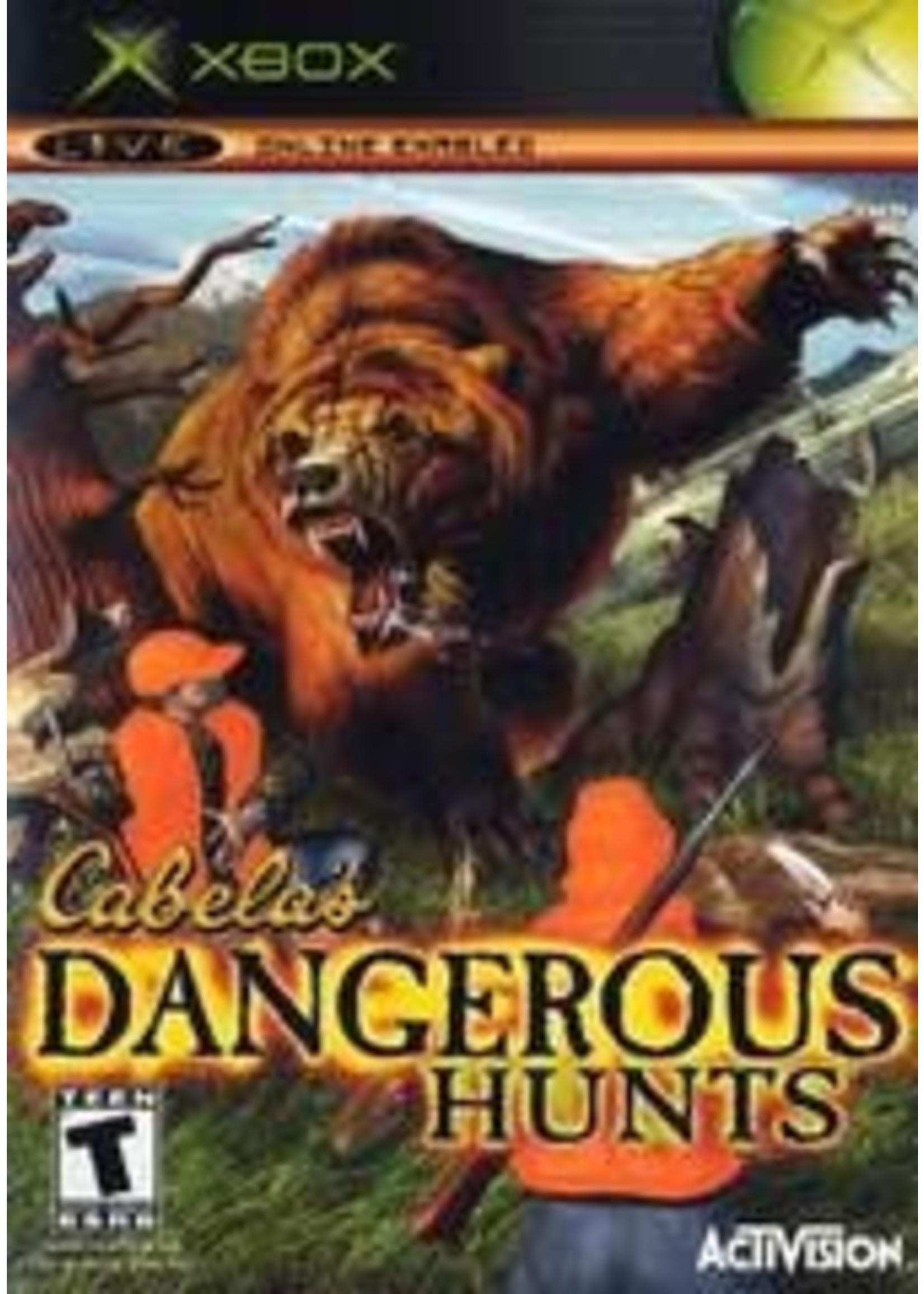 Cabela's Dangerous Hunts Xbox