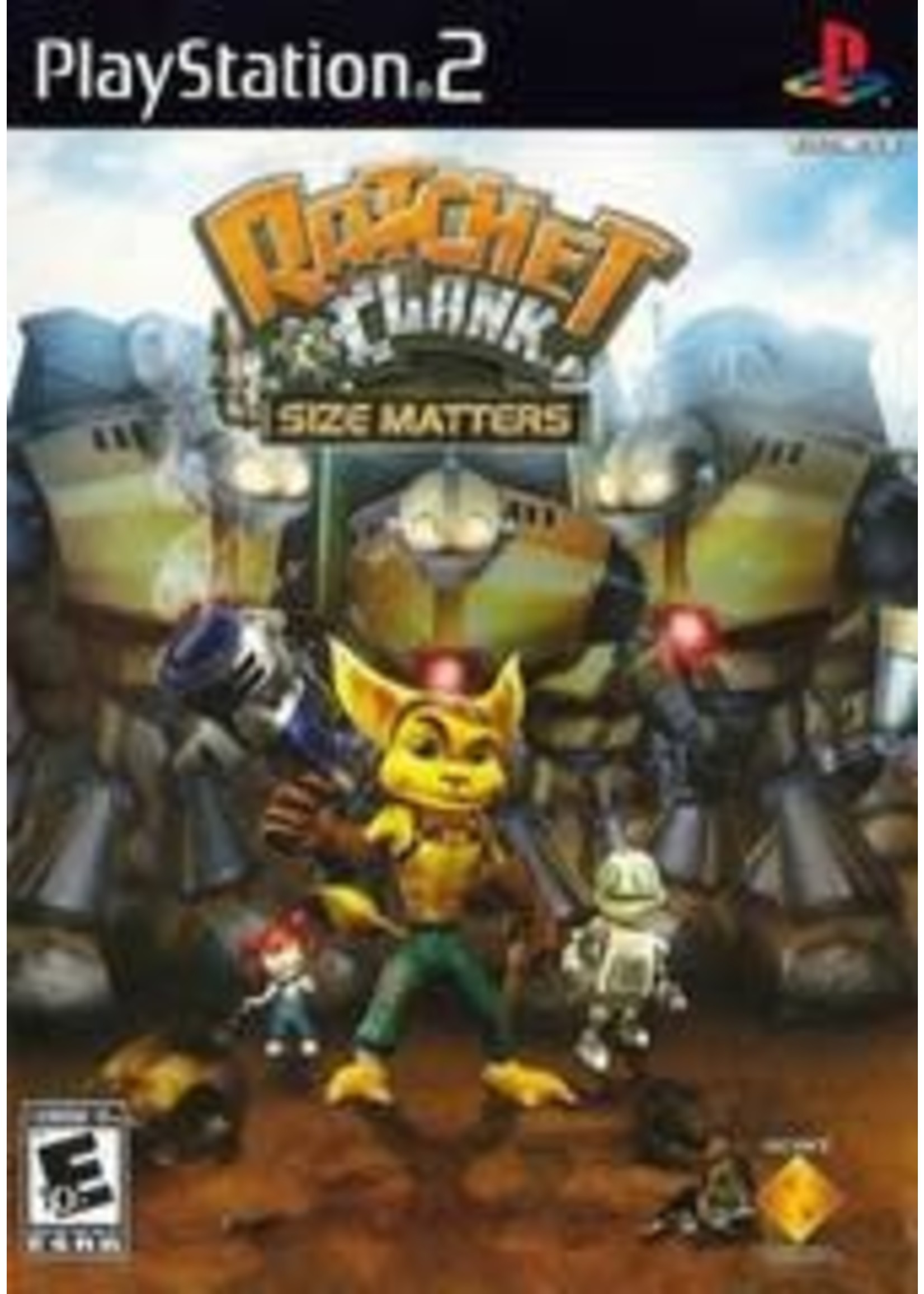 Ratchet And Clank Size Matters Playstation 2
