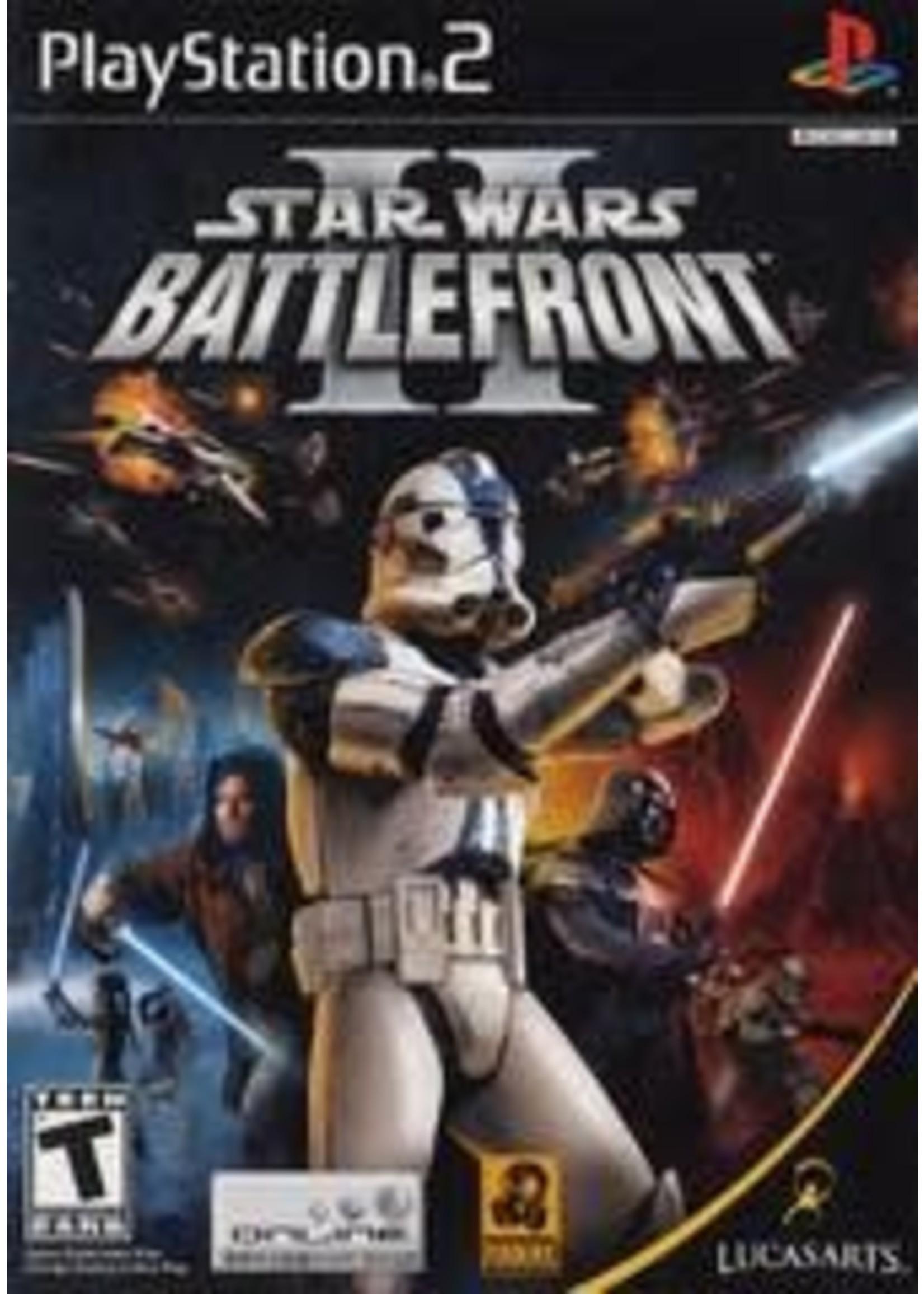 Star Wars Battlefront 2 Playstation 2
