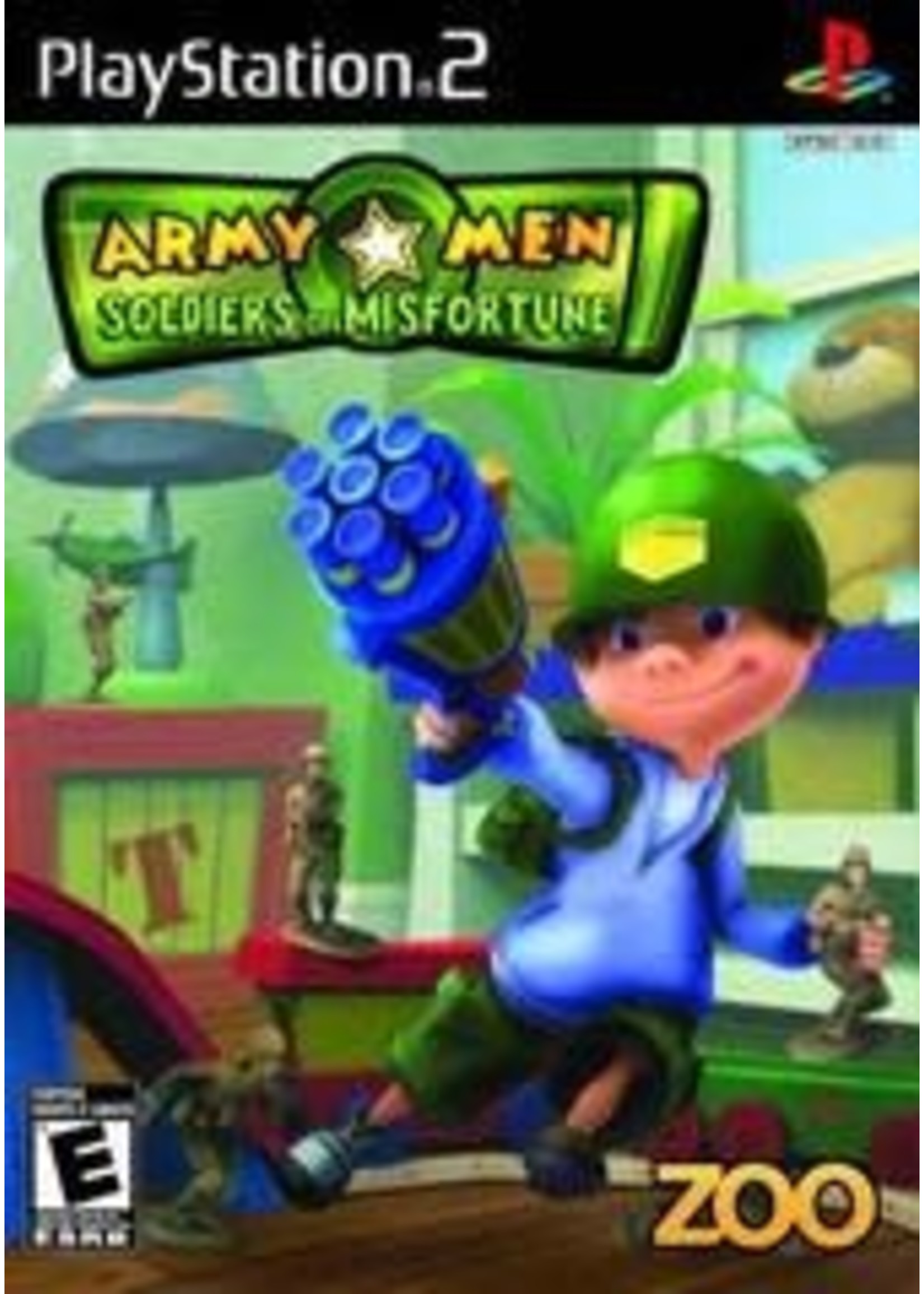 Army Men Soldiers Of Misfortune Playstation 2