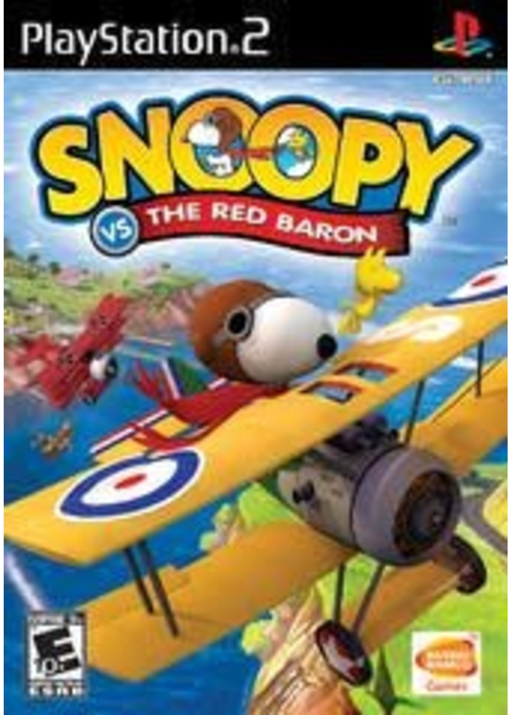 Snoopy Vs. The Red Baron Playstation 2