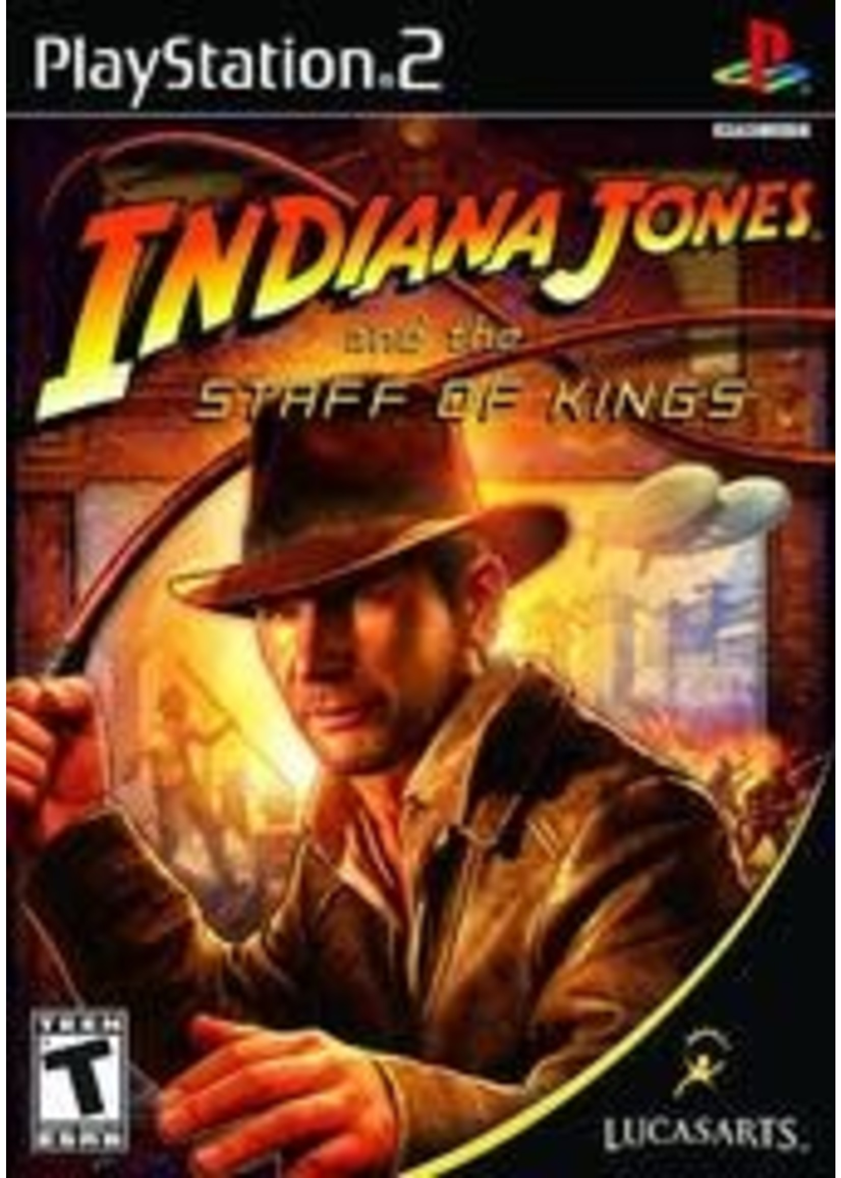 Indiana Jones And The Staff Of Kings Playstation 2
