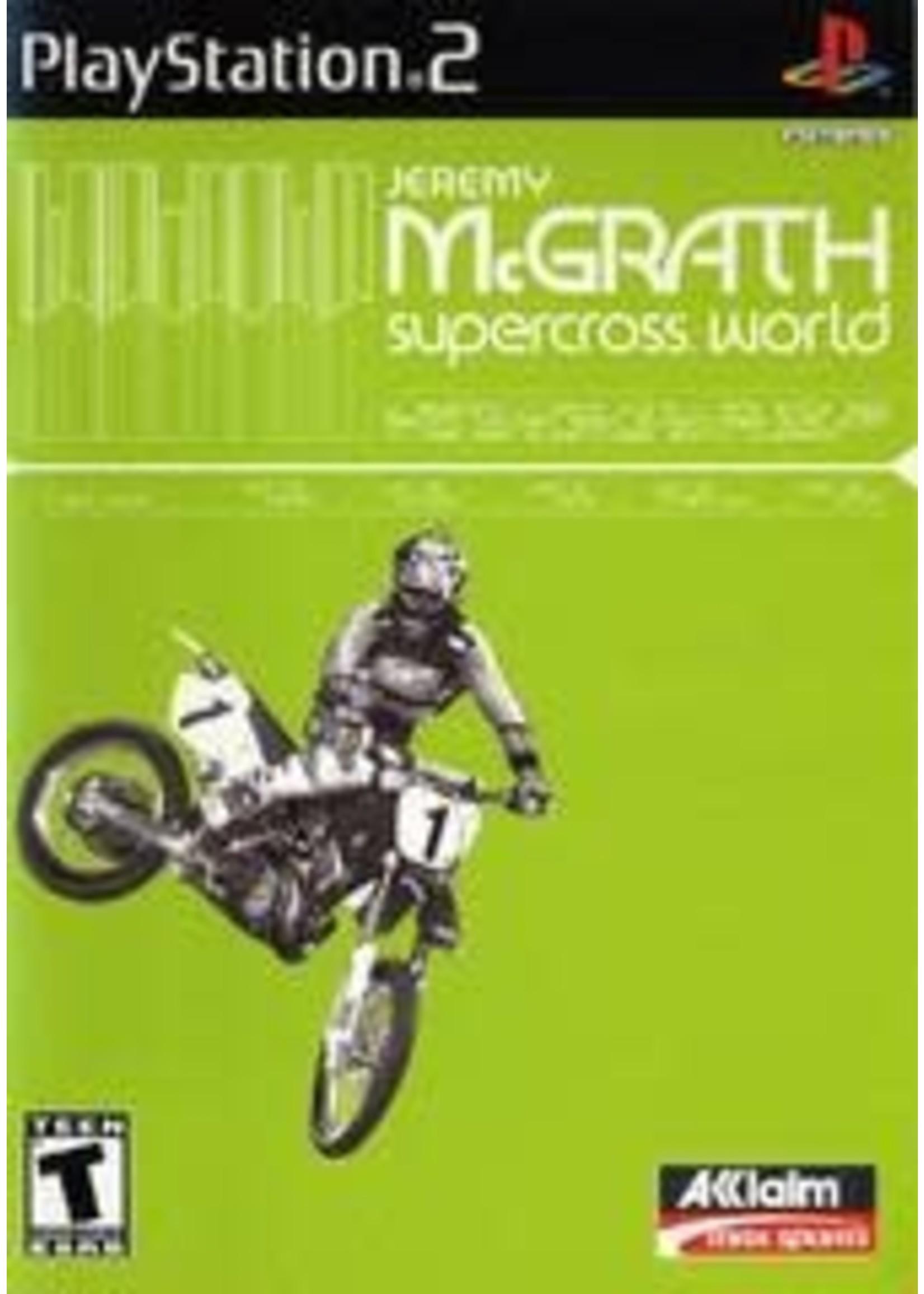 Jeremy McGrath Supercross World Playstation 2
