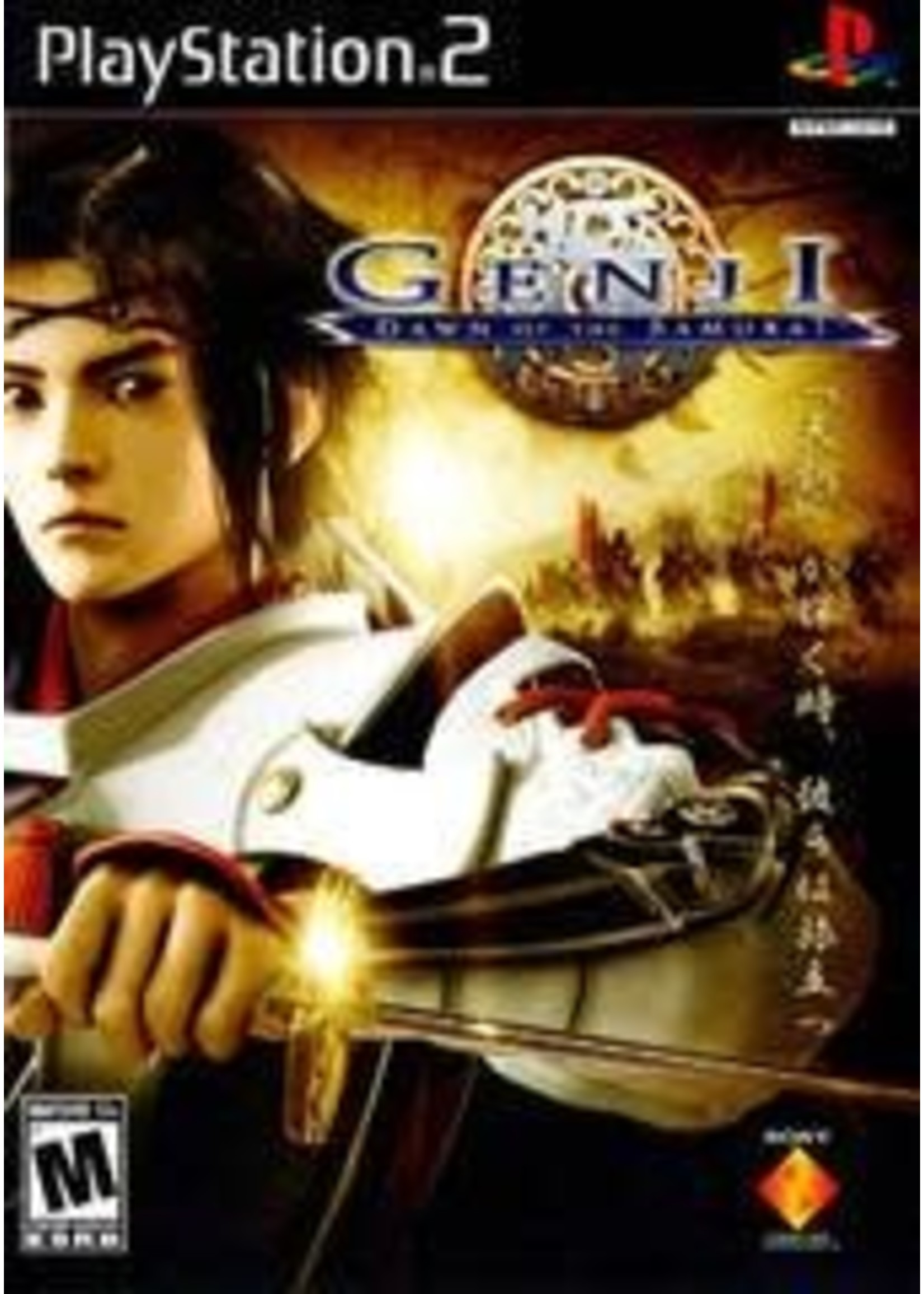 Genji Dawn Of The Samurai Playstation 2