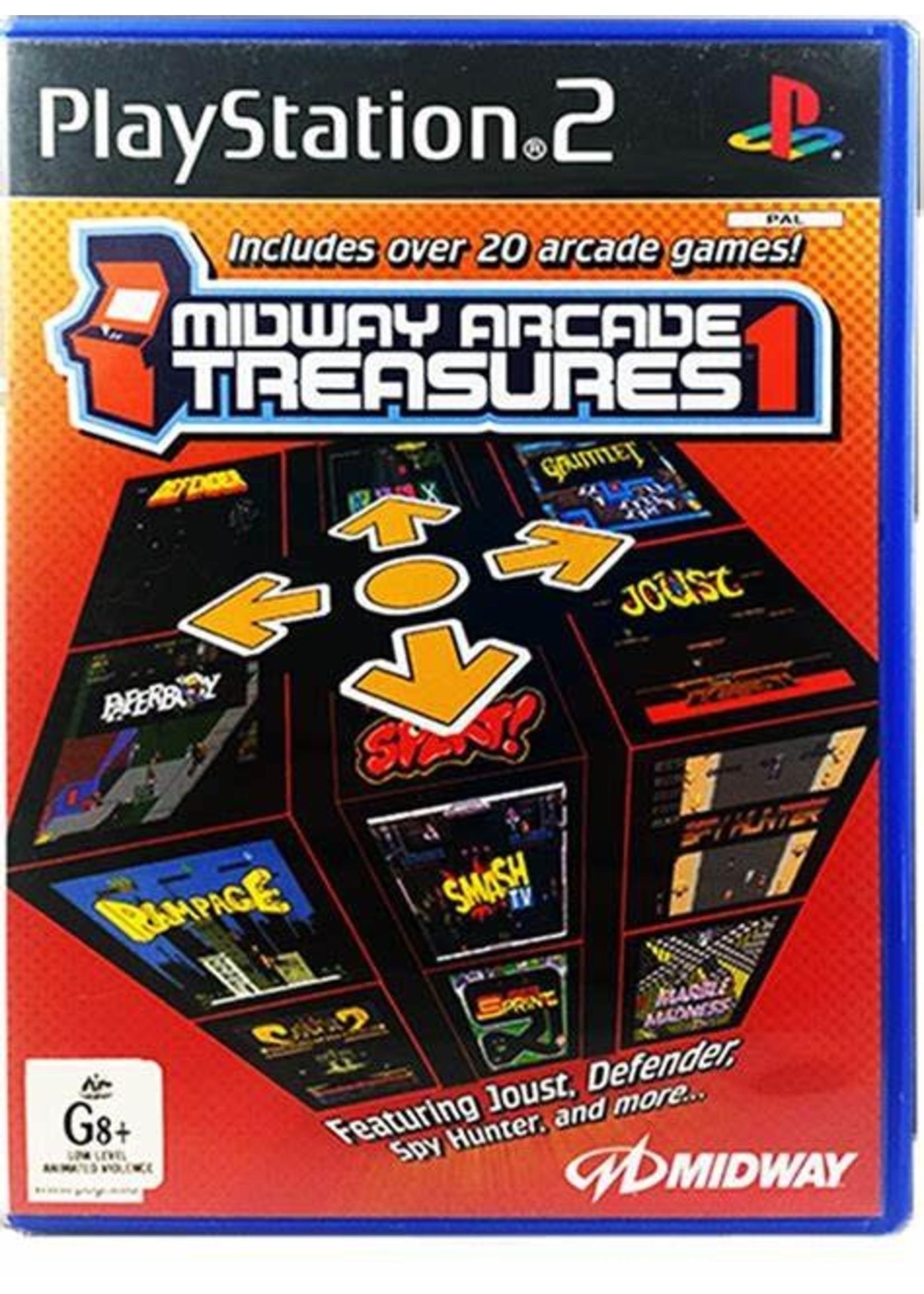 Midway Arcade Treasures PS2