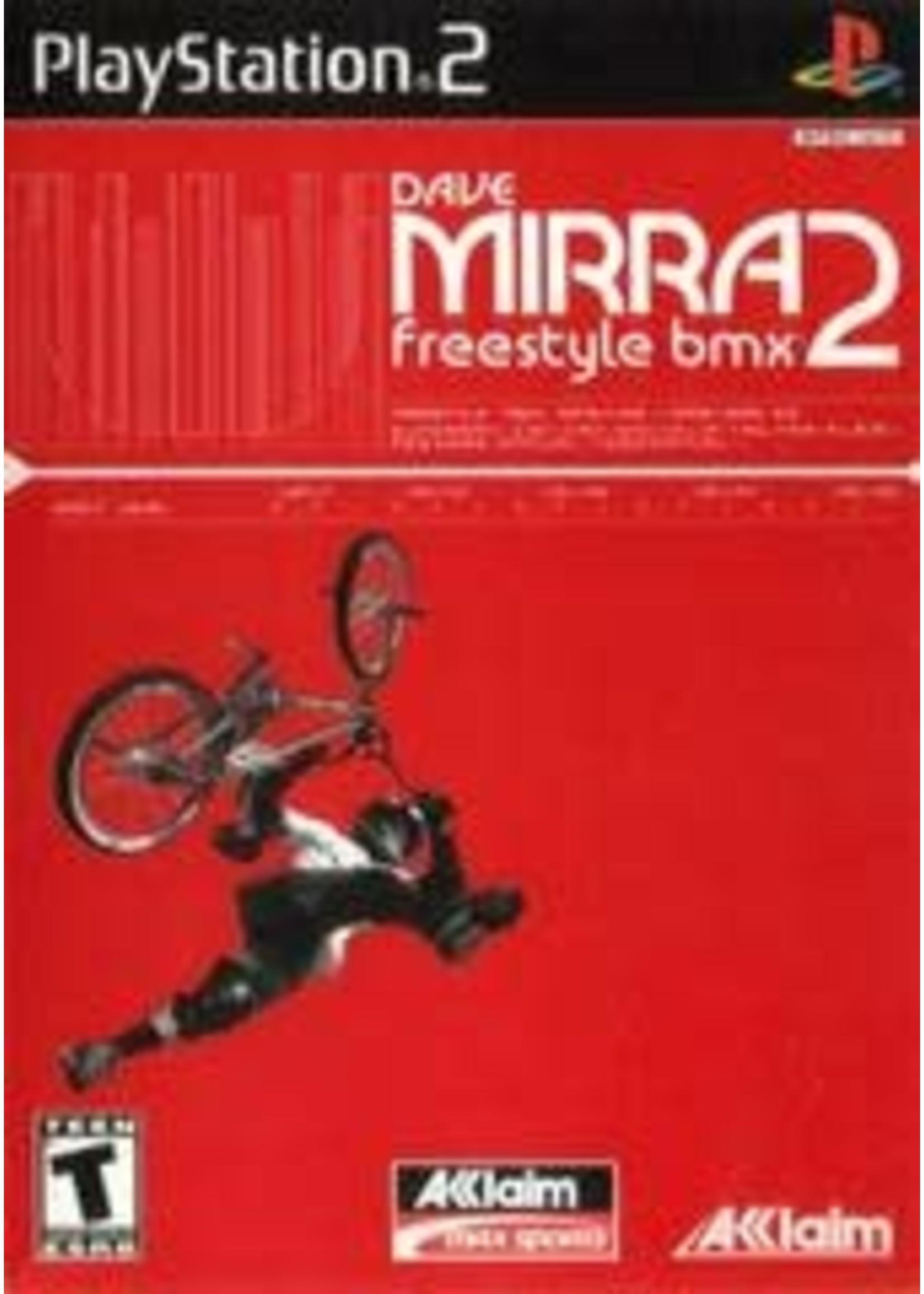 Dave Mirra Freestyle BMX 2 Playstation 2