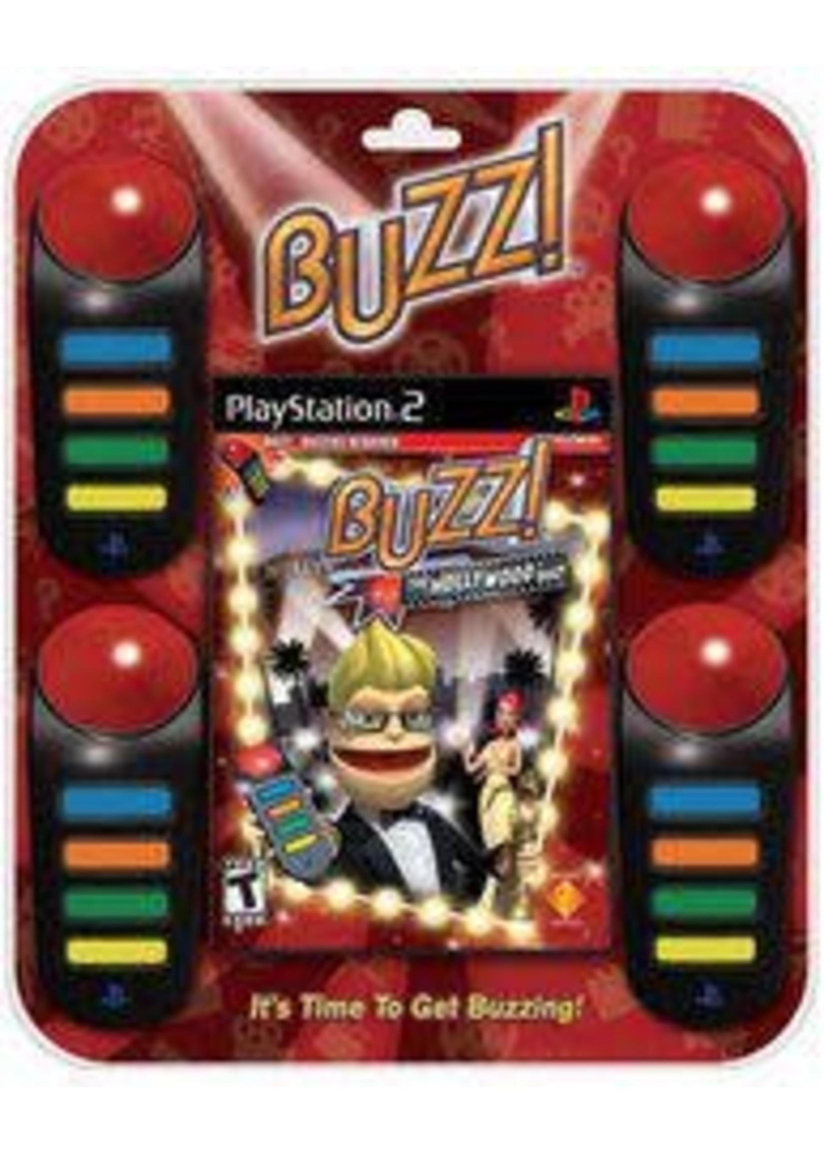 Buzz!: The Hollywood Quiz Bundle Playstation 2