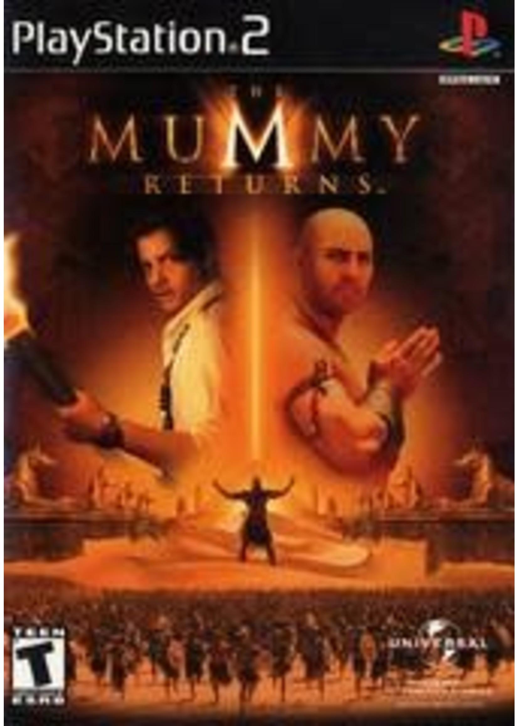 The Mummy Returns Playstation 2