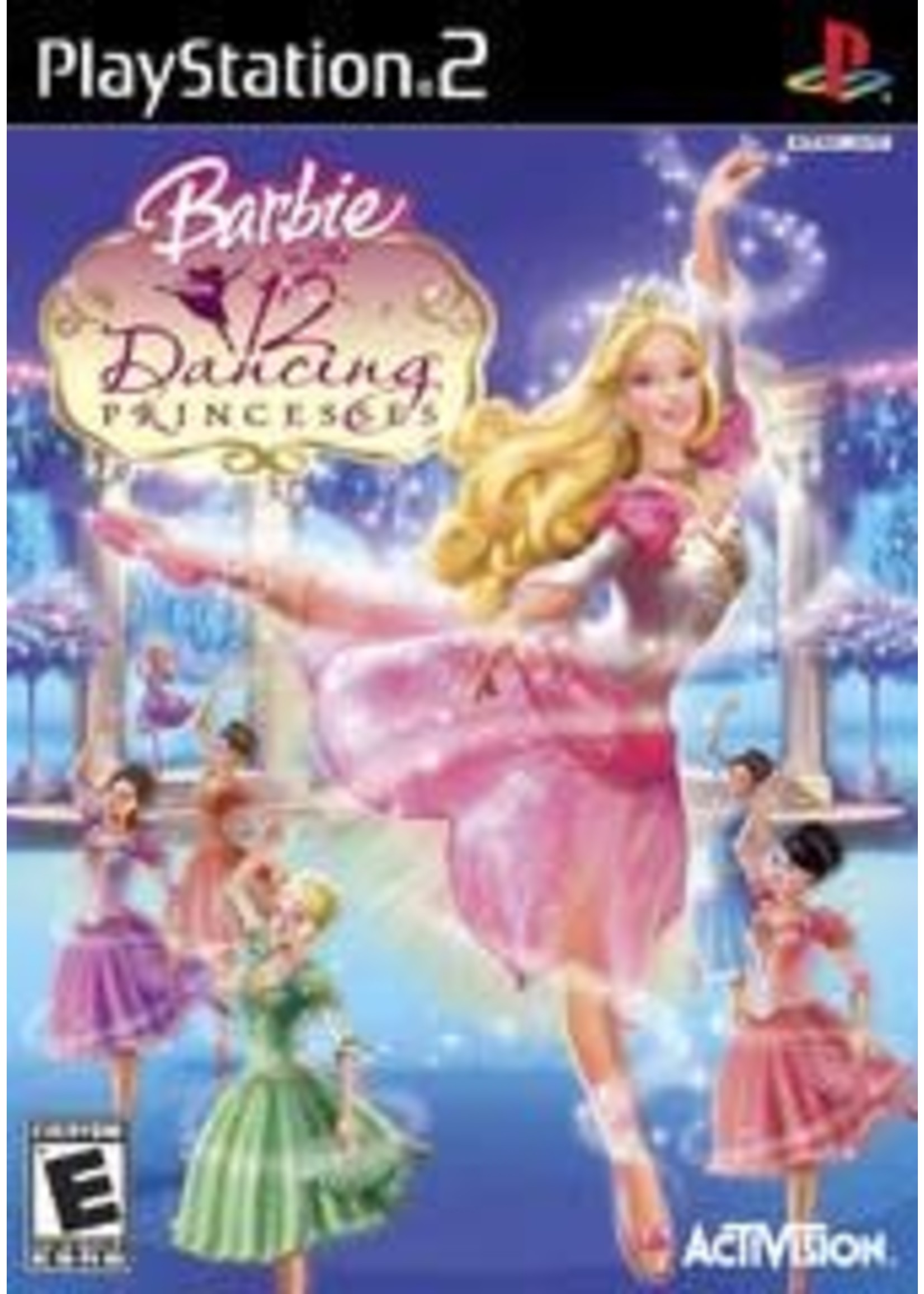 Barbie In The 12 Dancing Princesses Playstation 2