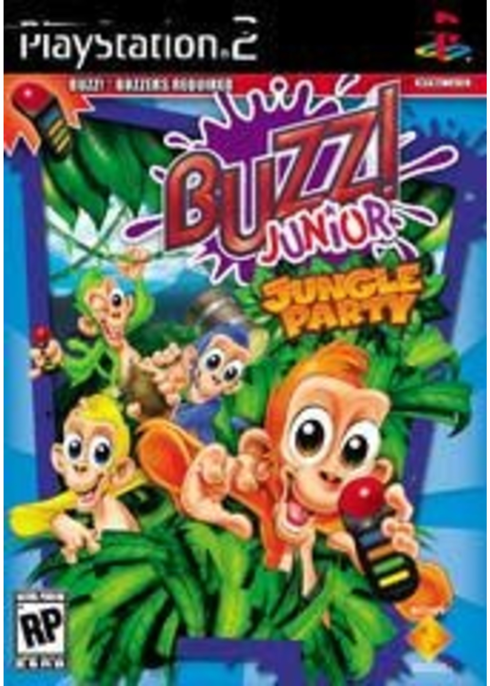 Buzz Junior Jungle Party Playstation 2