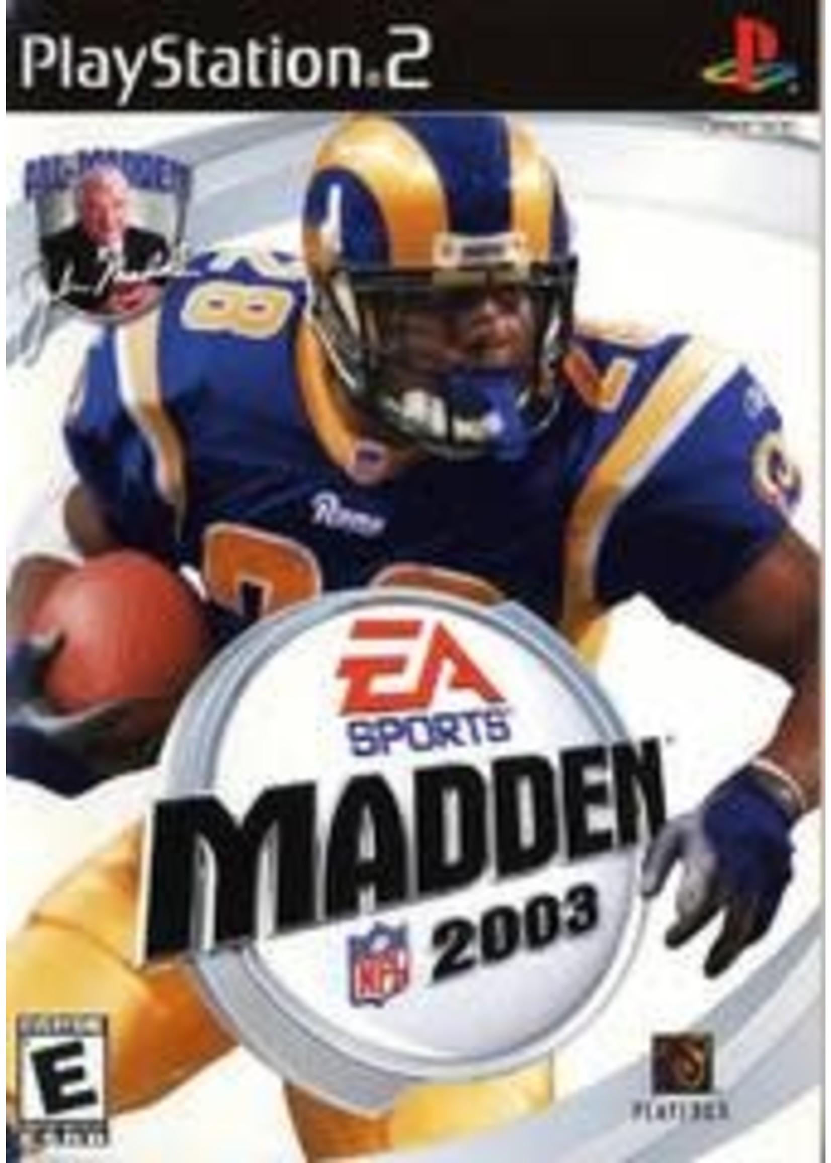 Madden 2003 Playstation 2