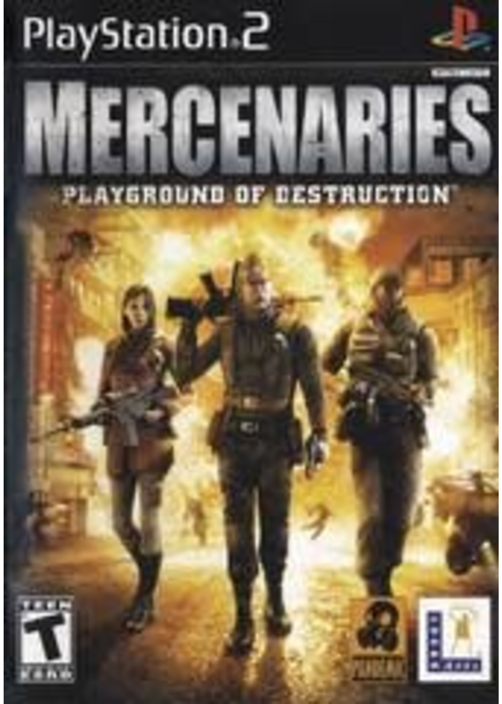 Mercenaries Playstation 2