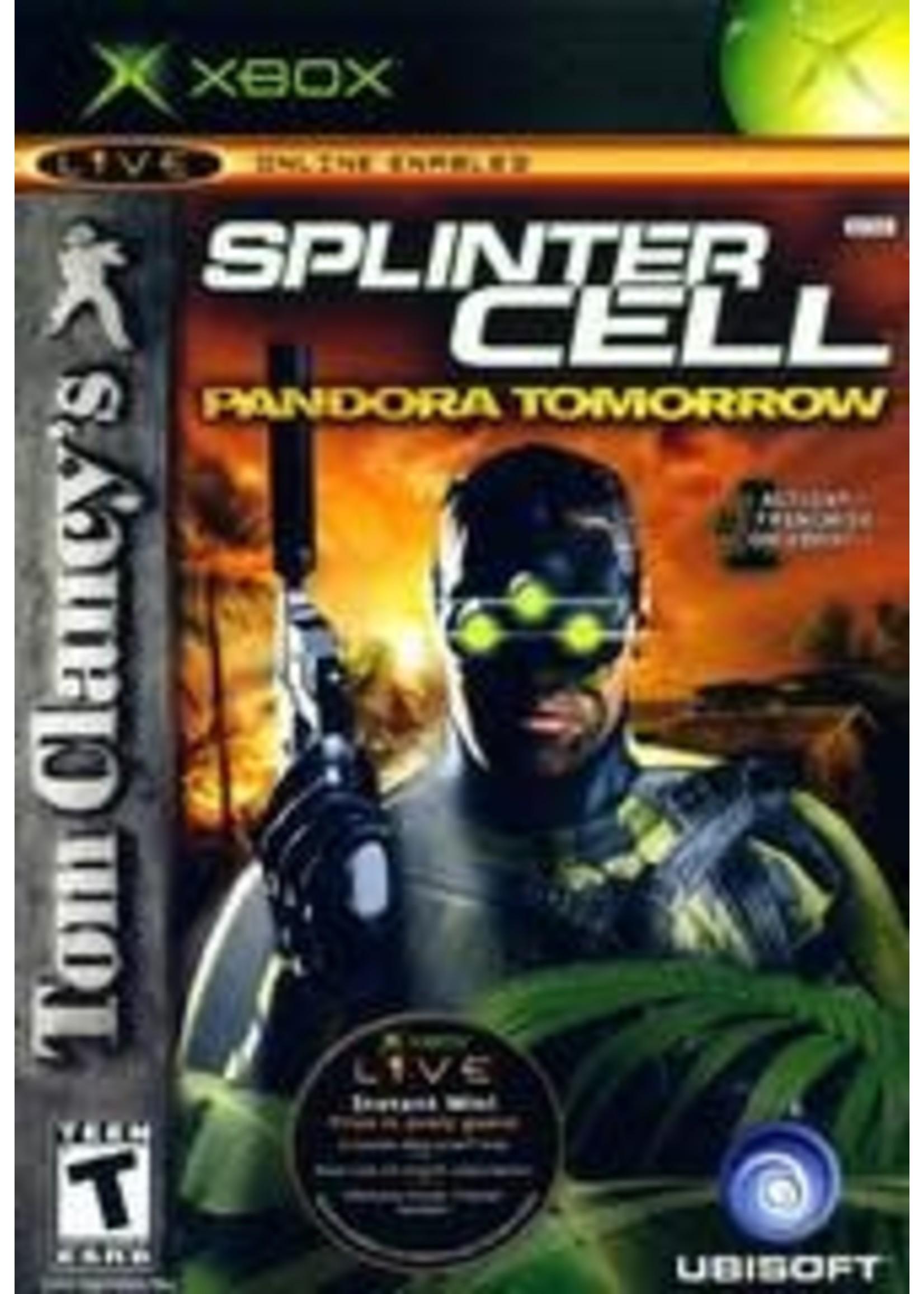 Splinter Cell Pandora Tomorrow Xbox
