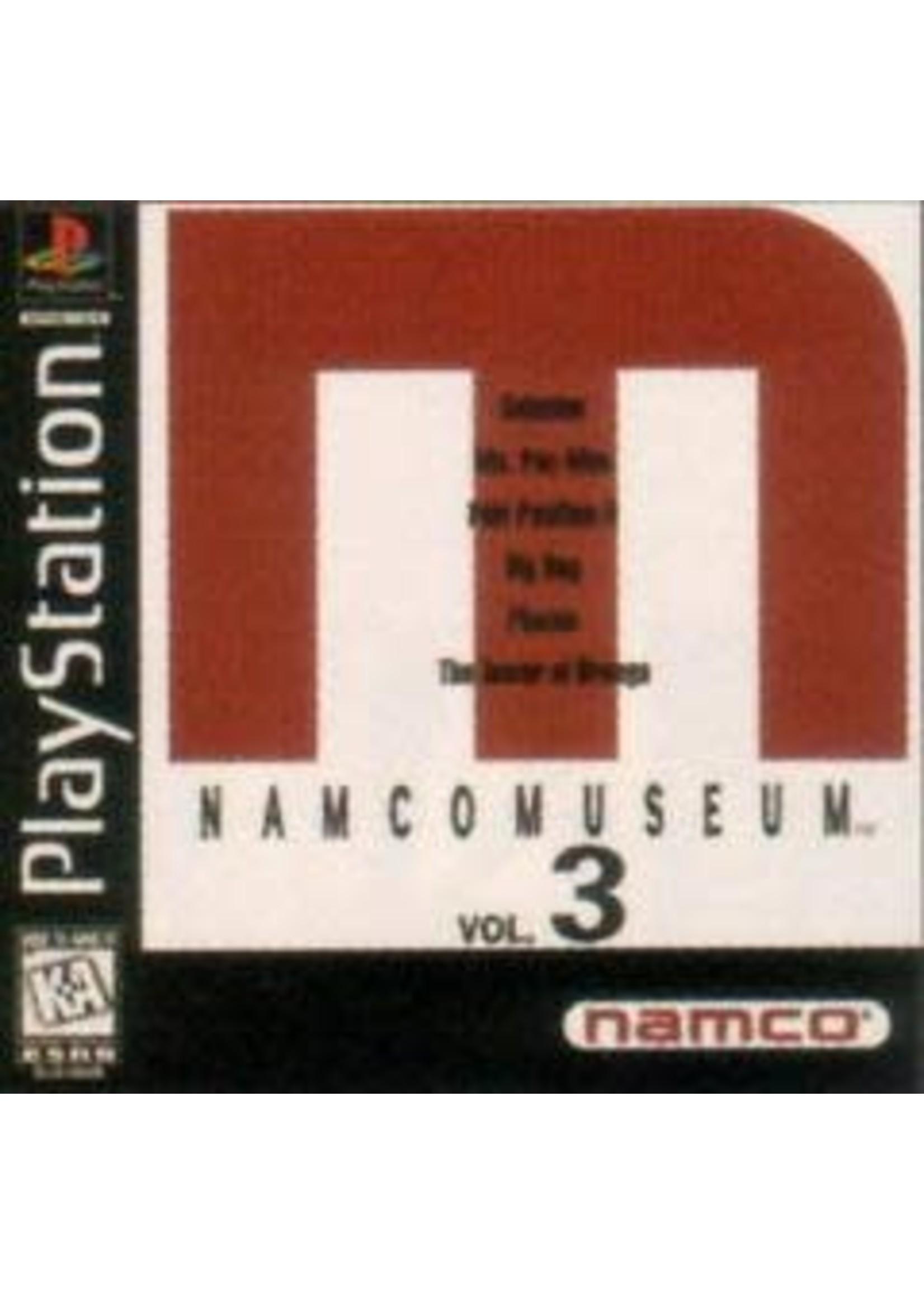 Namco Museum Volume 3 Playstation