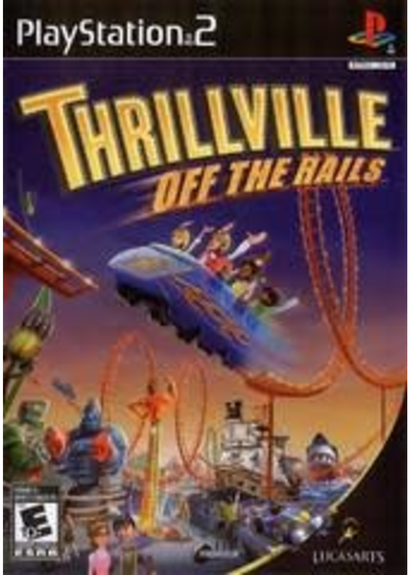 Thrillville Off The Rails Playstation 2