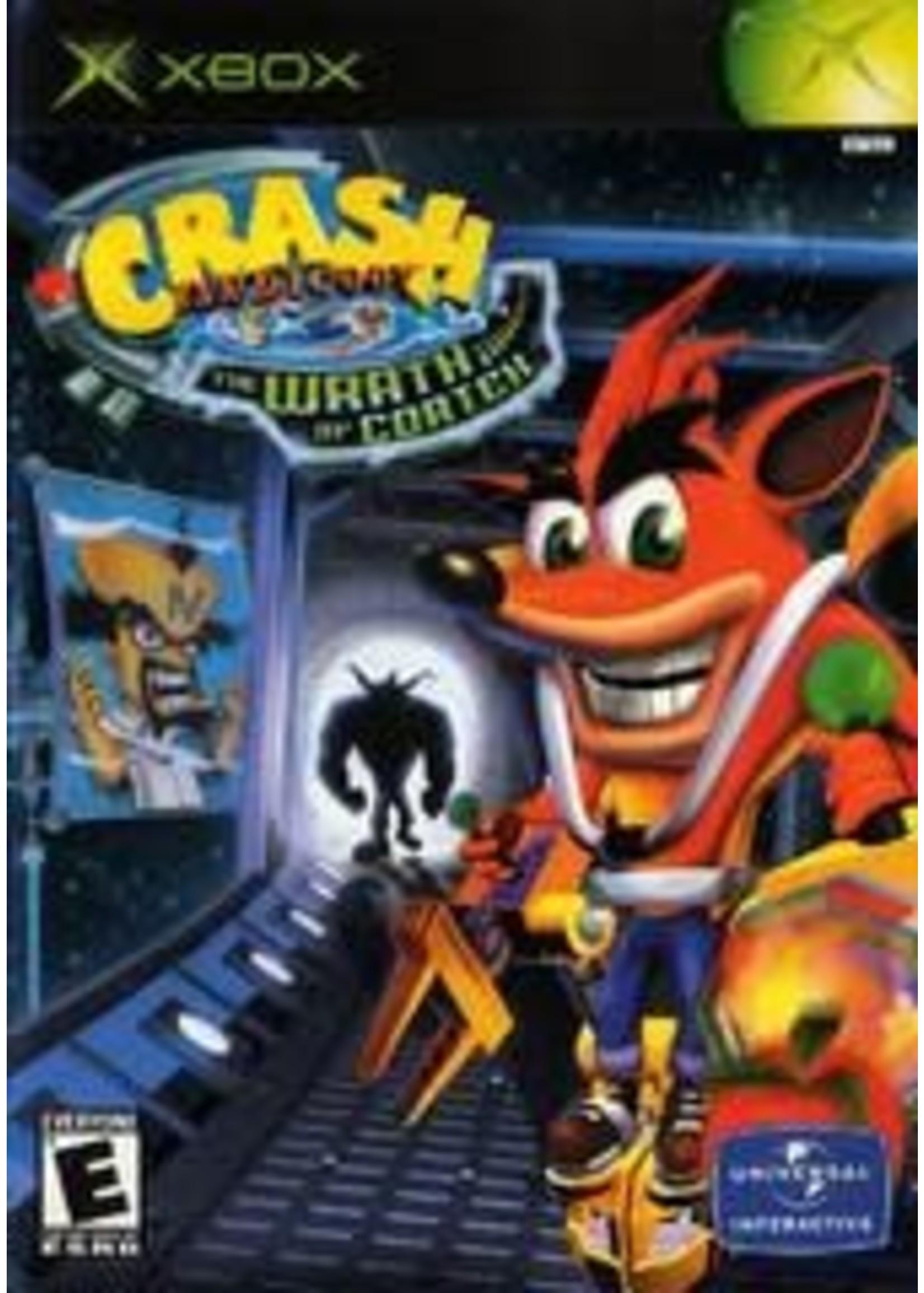 Crash Bandicoot The Wrath Of Cortex Xbox